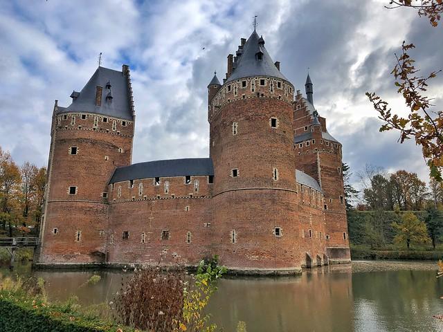 Castillo de Beersel (Flandes, Bélgica)