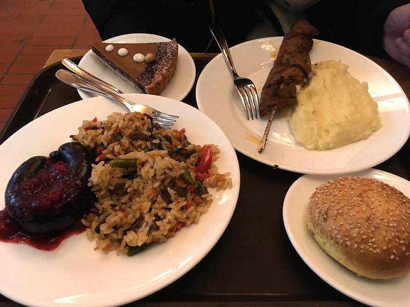Еда в Риге