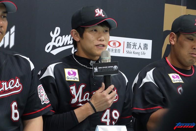 台灣選手陳冠宇目前效力於羅德海洋隊。(行大昀/攝)