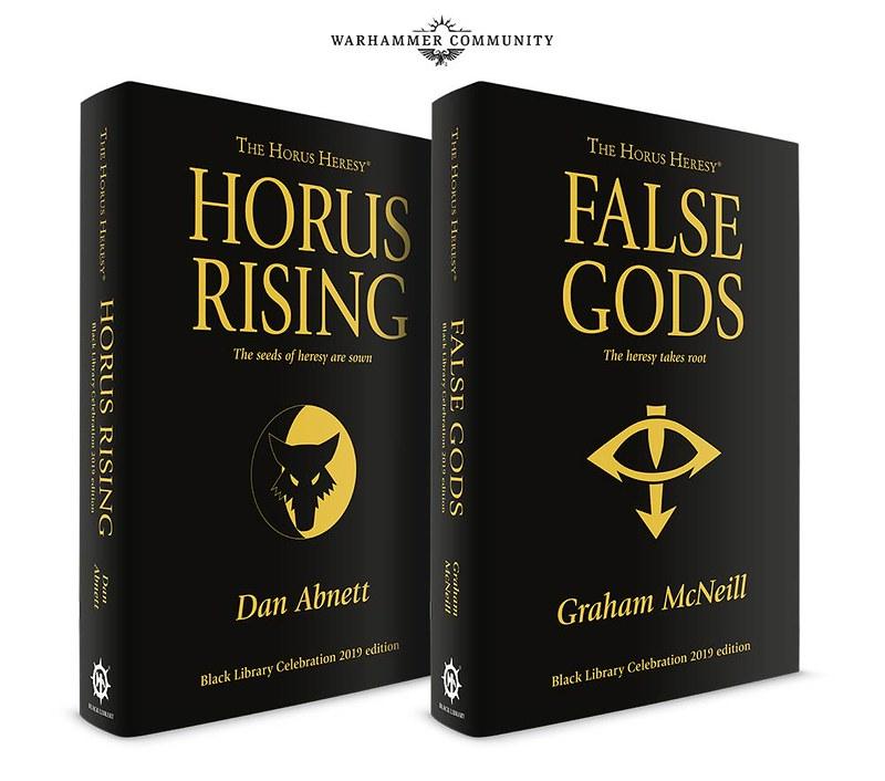 «Возвышение Хоруса» и «Лживые боги» | Horus Rising and False Gods