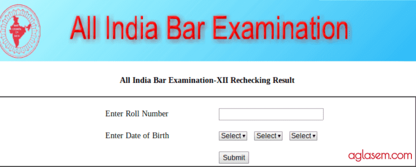 AIBE-XII Rechecking Result Announced; AIBE XIII Exam Date Announced