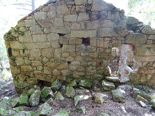 Cuchjaredda : l'arrière du moulin