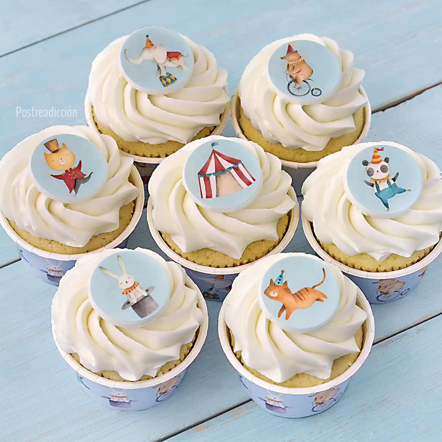 obleas cupcakes