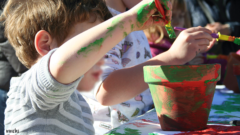 taller de pintura en Paterna para niños