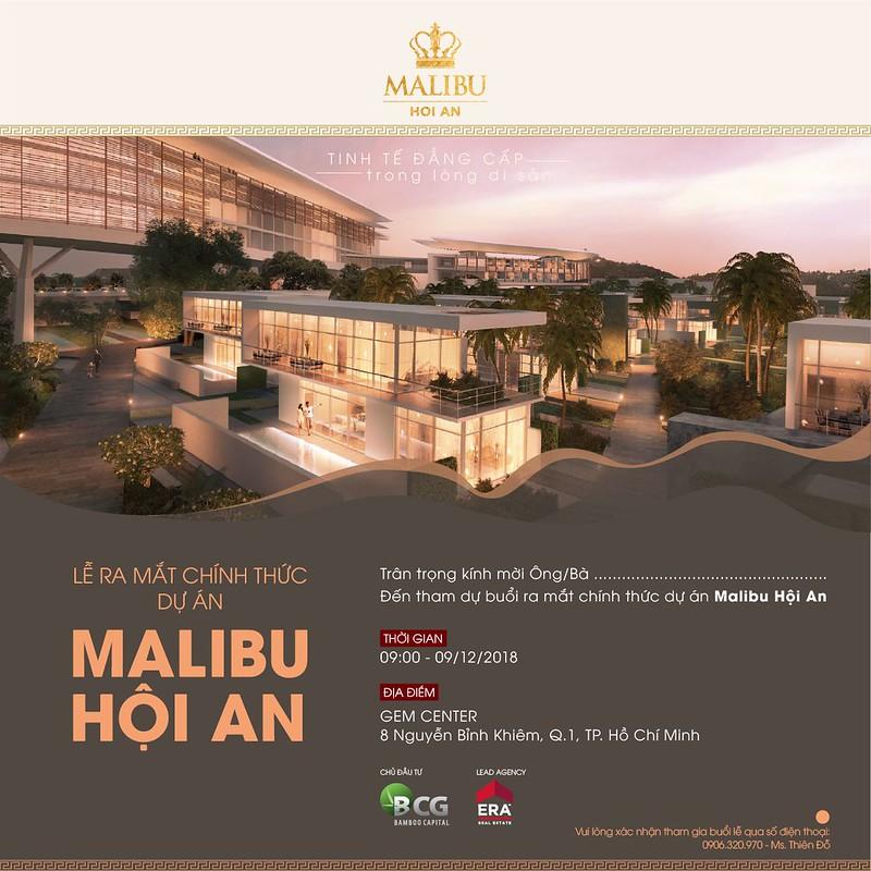 lễ ra mắt dự án Malibu Hội An