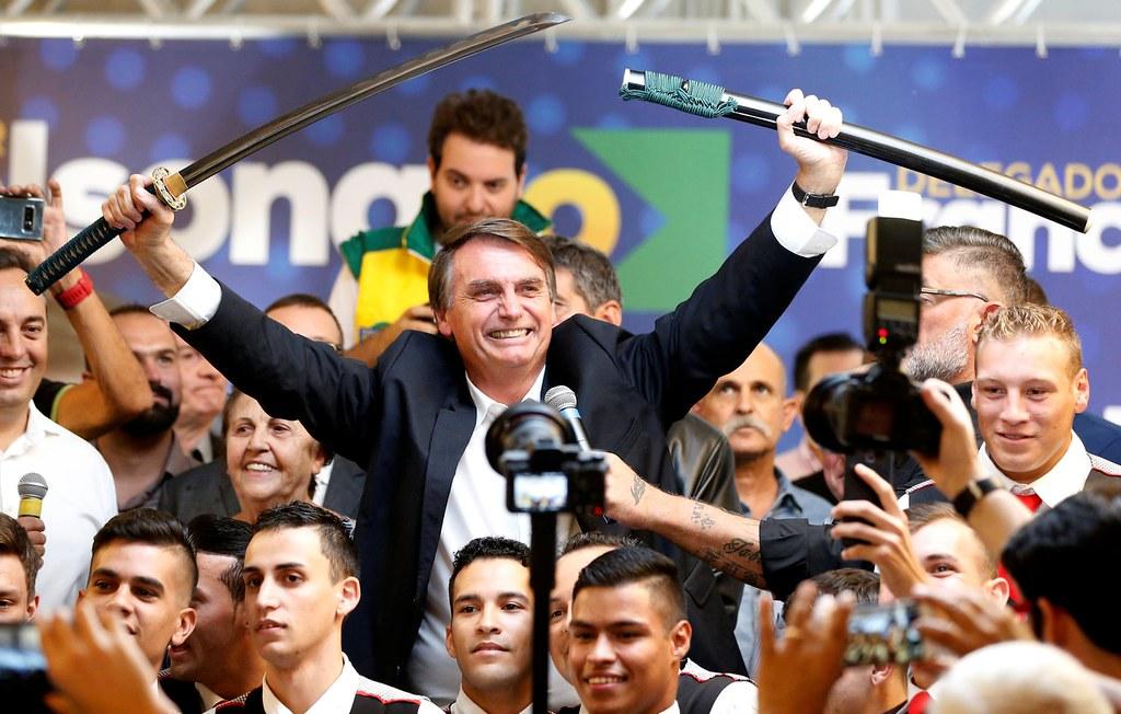 當選巴西總統的波索納洛。(圖片來源:Rodolfo Buhrer/Reuters)