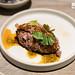 Beef tartare, spring garlic, baby anchovy, wood sorrel