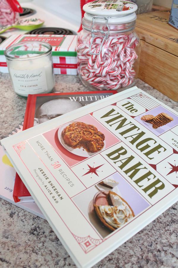vintage baking book