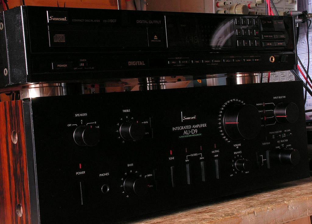 Sansui Vintage Audio Parts on