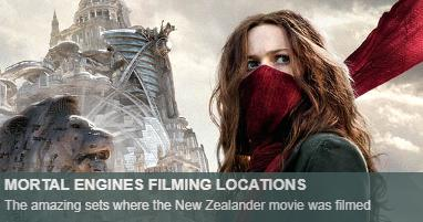 Where was Mortal Engines filmed