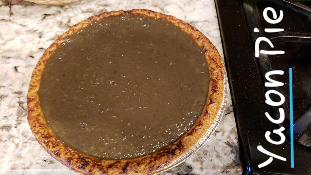 Yacon Pie 45100737525_b942aae010_b