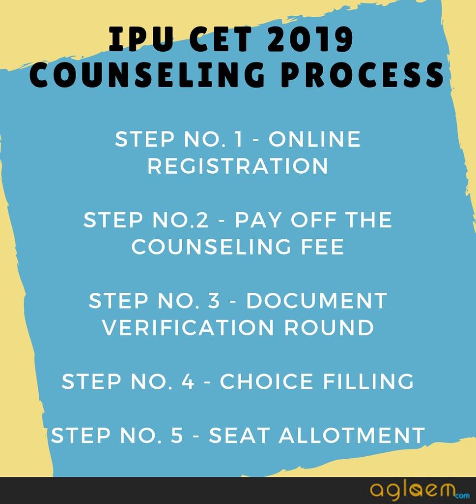 ipu cet 2019 counseling
