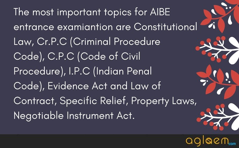 AIBE Admit Card (Available) - Download Here for AIBE 12 and 13