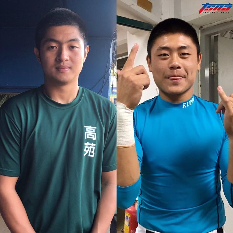 (圖左)高苑林逸達、榖保林吳晉瑋將於全壘打大賽首輪對決。(賴珈薇、行大昀/攝)