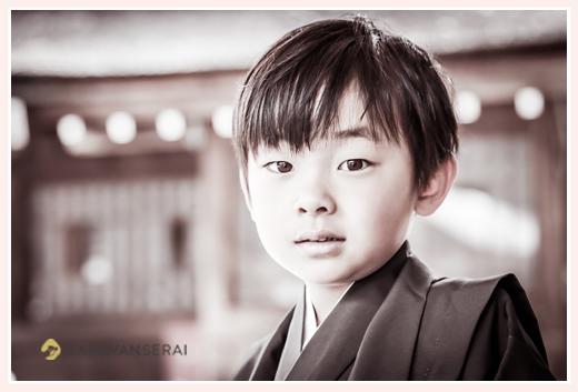 七五三 5歳の男の子 砥鹿神社 愛知県豊川市