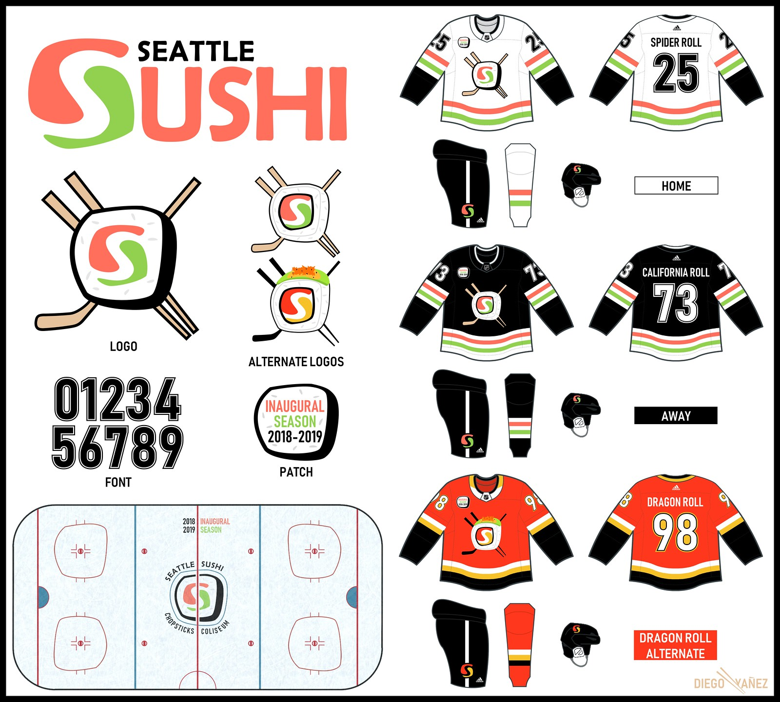 uni watch delivers the winning entries for the seattle nhl design