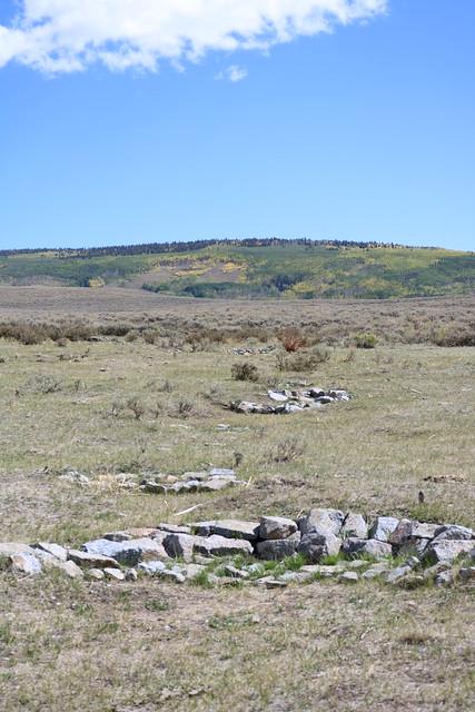 A rock dam