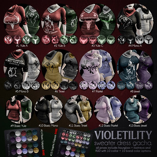Violetility - Sweater Dress Gacha | by Violetility