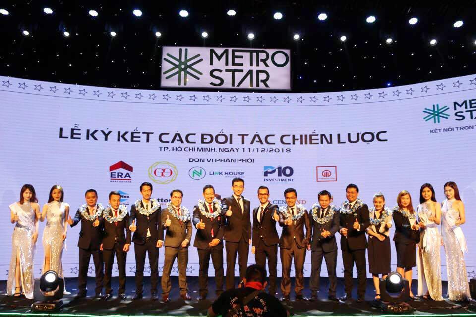 Lễ ký kết các đối tác chiến lược F1 với dự án Metro Star 2