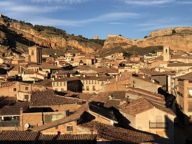Vistas de Daroca desde la Puerta Baja (Tierras del Jiloca y Gallocanta)