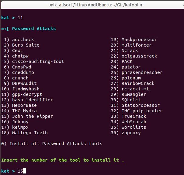 katoolin-password-attacks-menu