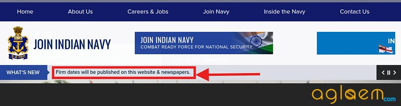 Indian Navy AA, SSR, MR Application Form Postponed