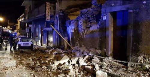 Terremoto, solidarietà da tutta Italia sul muro di Calciocatania.com$