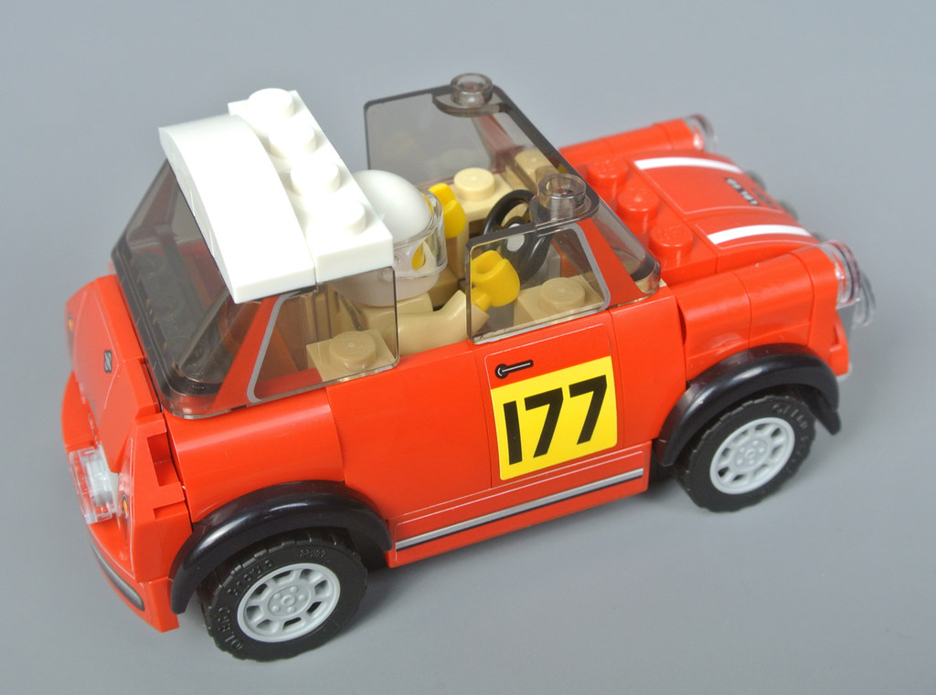 Review: 75894 1967 Mini Cooper S Rally and 2018 MINI John ...