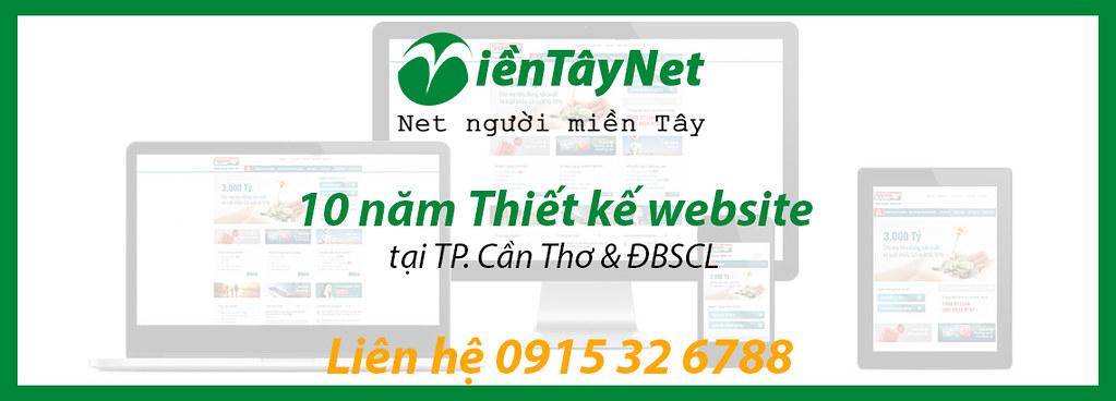Thiết kế website và Quảng cáo trực tuyến TP. Cần Thơ và các tỉnh ĐBSCL 0915 32 6788