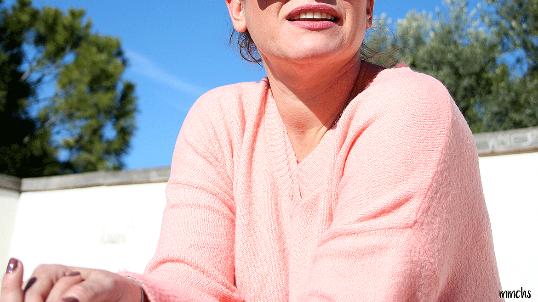 look de mujer en color rojo