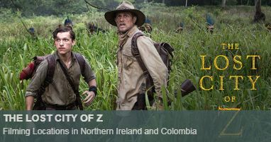 Where was The lost city of Z filmed