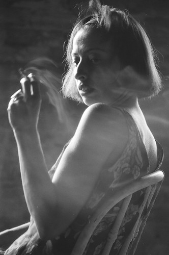 smoking woman | by tonywoodphoto