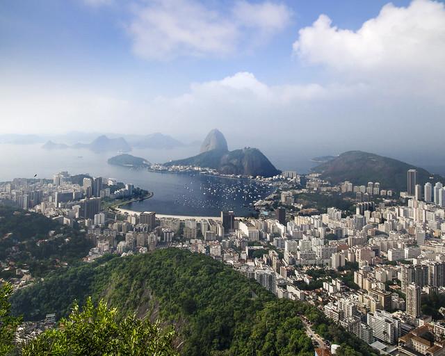 Vistas de Rio de Janeiro desde el mirador de Doña Marta