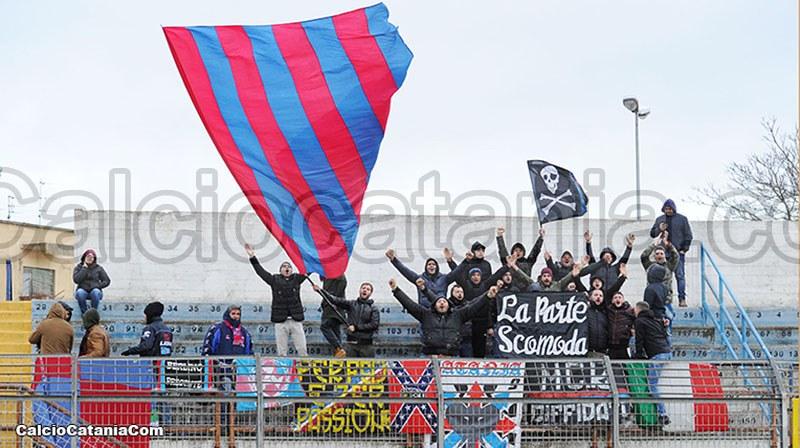 Tifosi rossazzurri presenti a Matera