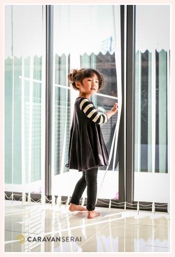 家族写真の出張撮影 愛知県瀬戸市 3歳の女の子