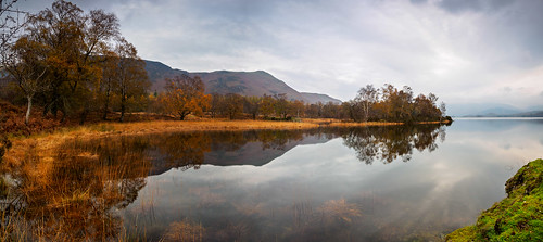 Derwent water autumn reflection | by Alf Branch