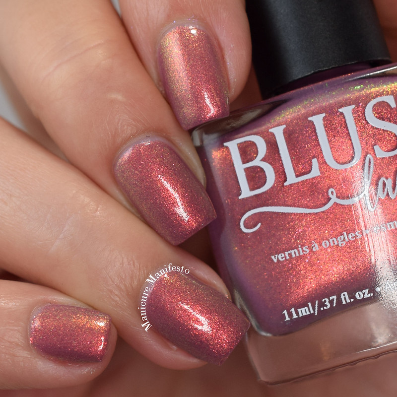 Blush Lacquer Marin Bering