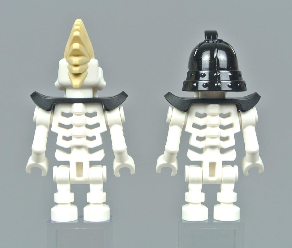Lego lot of 2 MINIFIGURE 21M WHITE CLIMBING ROPES B546