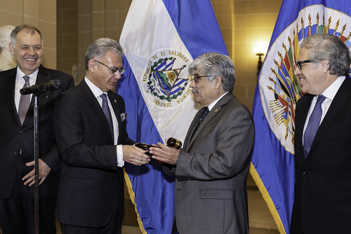 El Salvador Assumes Chair of the OAS Permanent Council