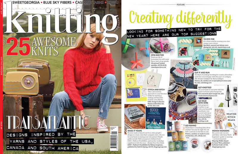 Knitting Magazine January 2019
