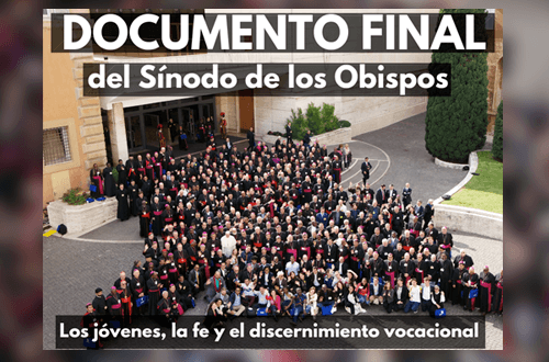 Documento final del Sínodo sobre los Jóvenes