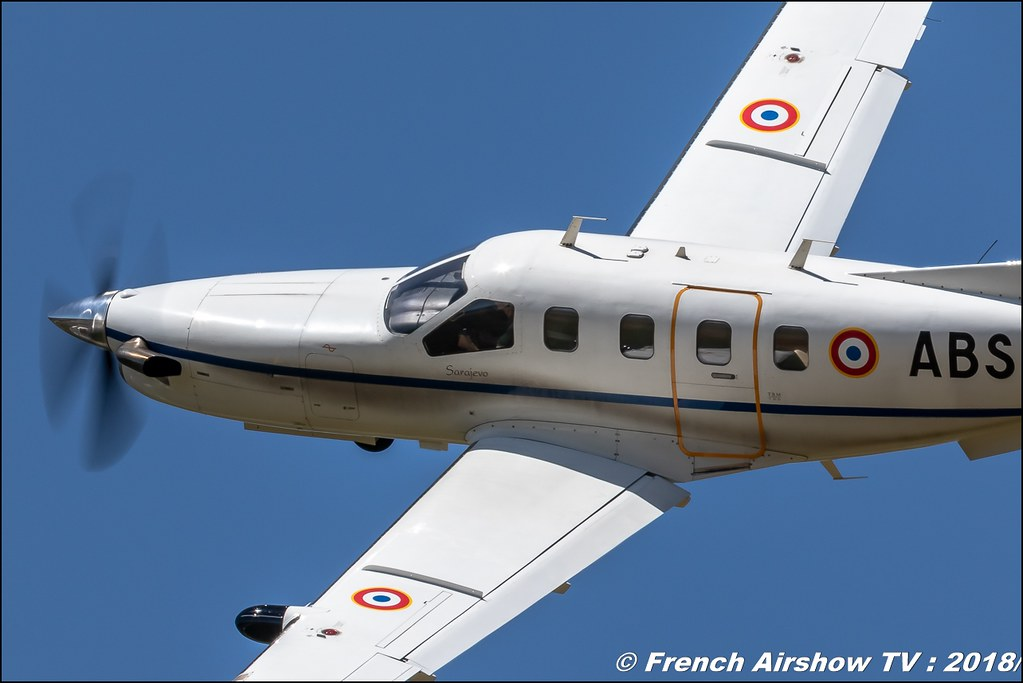 Socata TBM 700 139/ABS Aerotorshow 2018 – Fête aérienne de Valence Chabeuil Canon Sigma France contemporary lens Meeting Aerien 2018