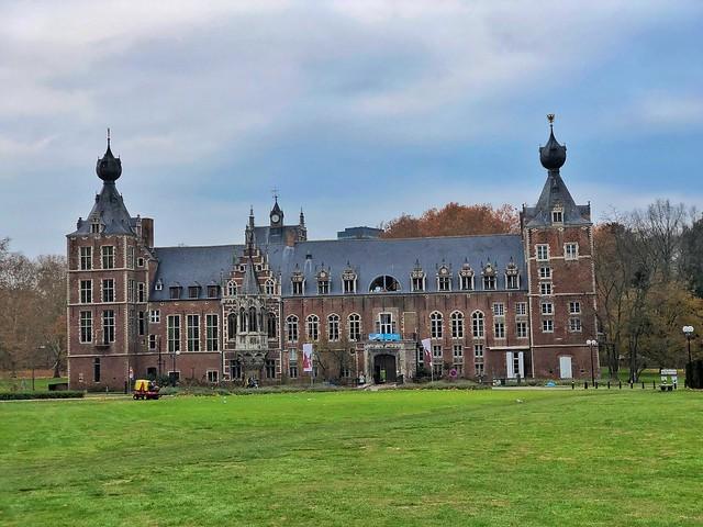 Castillo Arenberg en Lovaina (Flandes, Bruselas)