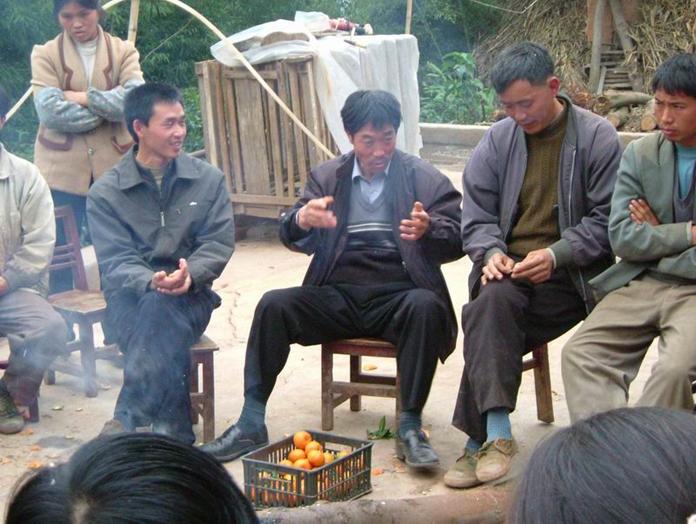 在古勝村發展退耕還林,以當地人為主體,項目化變成參與者或陪伴者