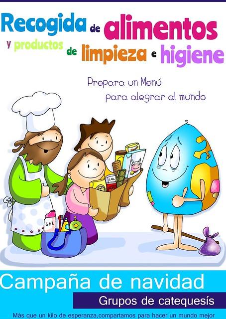 """Campaña """"Prepara un menú para alegrar al mundo"""""""