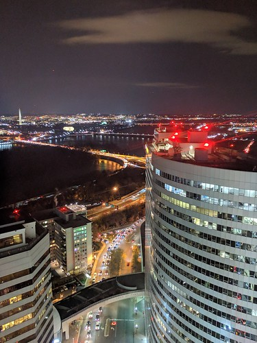 Rosslyn, the Potomac, and D.C. | by robpegoraro