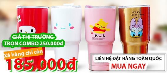 Ly INOX giữ nhiệt giá tốt nhất TP Cần Thơ - Shop Online Cần Thơ - 0939443075