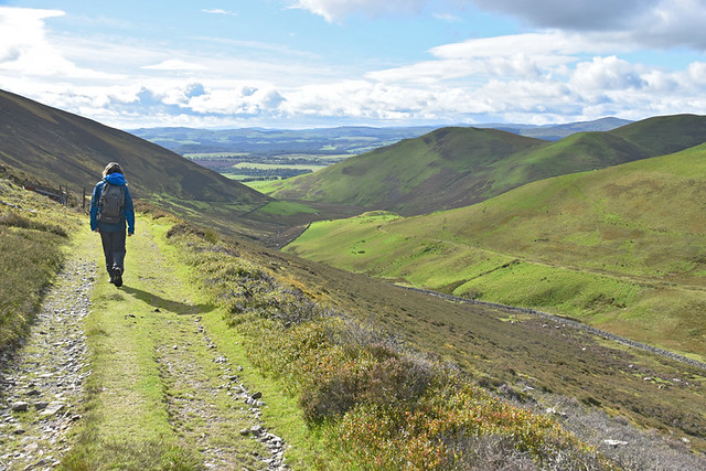 Walking in Dumfries and Galloway, Scotland