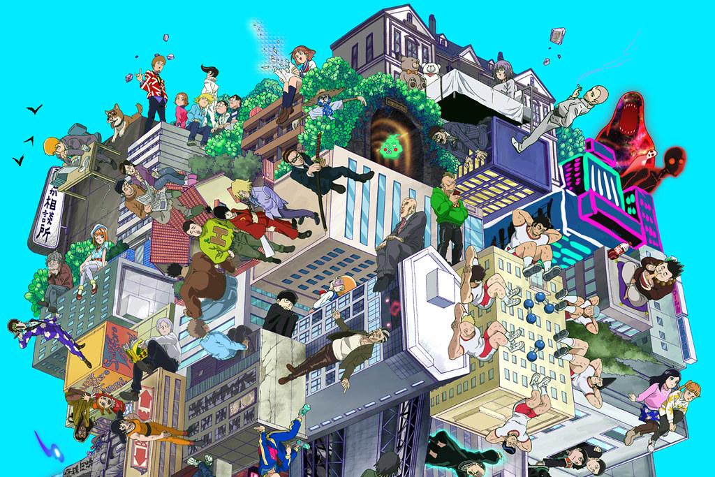 181118(1) - 動畫續篇《モブサイコ100 II》宣布2019/1/7首播、40分鐘『紐約祭典』現場實況&60位主角海報大公開!