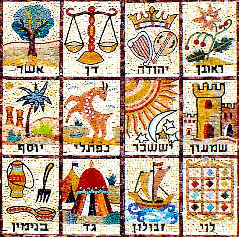 Колена Израилевы.